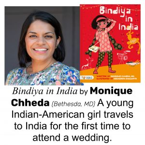 Monique Chheda, author of BINDIYA IN INDIA