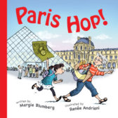 Tweet to tell us that you read PARIS HOP by Margie Blumberg