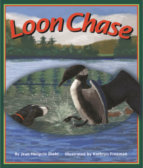 Tweet to tell us that you read LOON CHASE by Jean Diehl