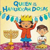 Tweet to tell us that you read QUEEN OF THE HANUKKAH DOSAS by Pamela Ehrenberg