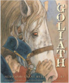Tweet to tell us that you read GOLIATH by Claudia Friddell