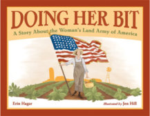 Tweet to tell us that you read DOING HER BIT by Erin Hagar