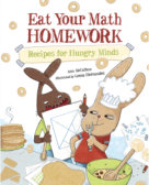 Tweet to tell us that you read EAT YOUR MATH HOMEWORK by Ann McCallum