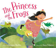 Tweet to tell us that you read THE PRINCESS AND THE FROGS by Veronica Bartles