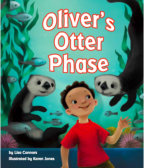 Tweet to tell us that you read OLIVER'S OTTER PHASE by Lisa Connors