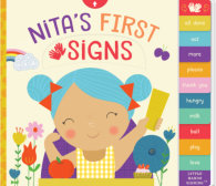 Tweet to tell us that you read NITA'S FIRST SIGNS by Kathy MacMillan