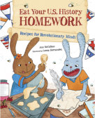 Tweet to tell us that you read EAT YOUR U.S. HISTORY HOMEWORK by Ann McCallum