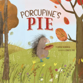 Tweet to tell us that you read PORCUPINE'S PIE by Laura Renauld