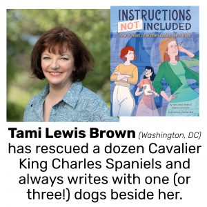Tami Lewis Brown, author of INSTRUCTIONS NOT INCLUDED: HOW A TEAM OF WOMEN CODED THE FUTURE