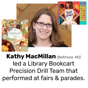 Kathy MacMillan, author of THE RUNAWAY SHIRT and SHE SPOKE: 14 WOMEN WHO RAISED THEIR VOICES AND CHANGED THE WORLD