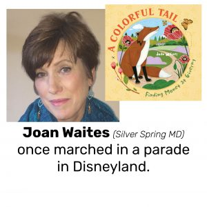 Joan Waites, author/illustrator of A COLORFUL TAIL: FINDING MONET AT GIVERNY