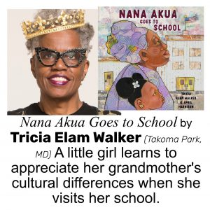 Tricia Elam Walker, author of NANA AKUA GOES TO SCHOOL