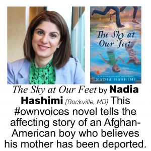 Nadia Hashimi, author of THE SKY AT OUR FEET