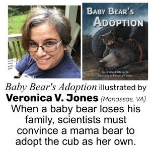 Veronica V. Jones, illustrator of BABY BEAR'S ADOPTION