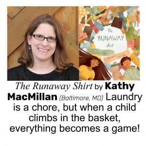 Kathy MacMillan, author of THE RUNAWAY SHIRT