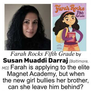 Susan Muaddi Darraj, author of FARAH ROCKS FIFTH GRADE
