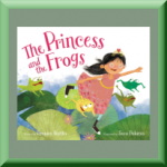 THE PRINCESS AND THE FROGS (ISBN: 978-0062365910) by Veronica Bartles (Catonsville, MD), author of Twelve Steps